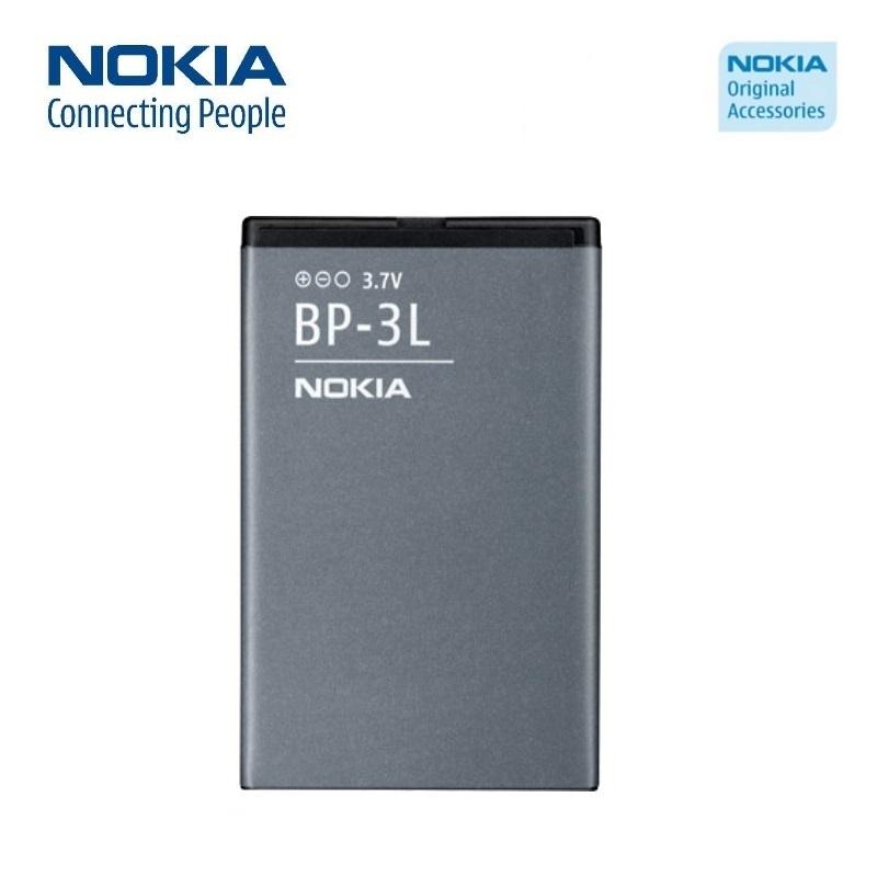 Nokia BP-3L Original Battery Lumia 610 710 Asha 303 603 Li-I akumulators, baterija mobilajam telefonam