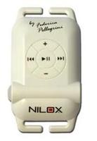 Nilox White Waterproof Swimming MP3 4GB MP3 atskaņotājs