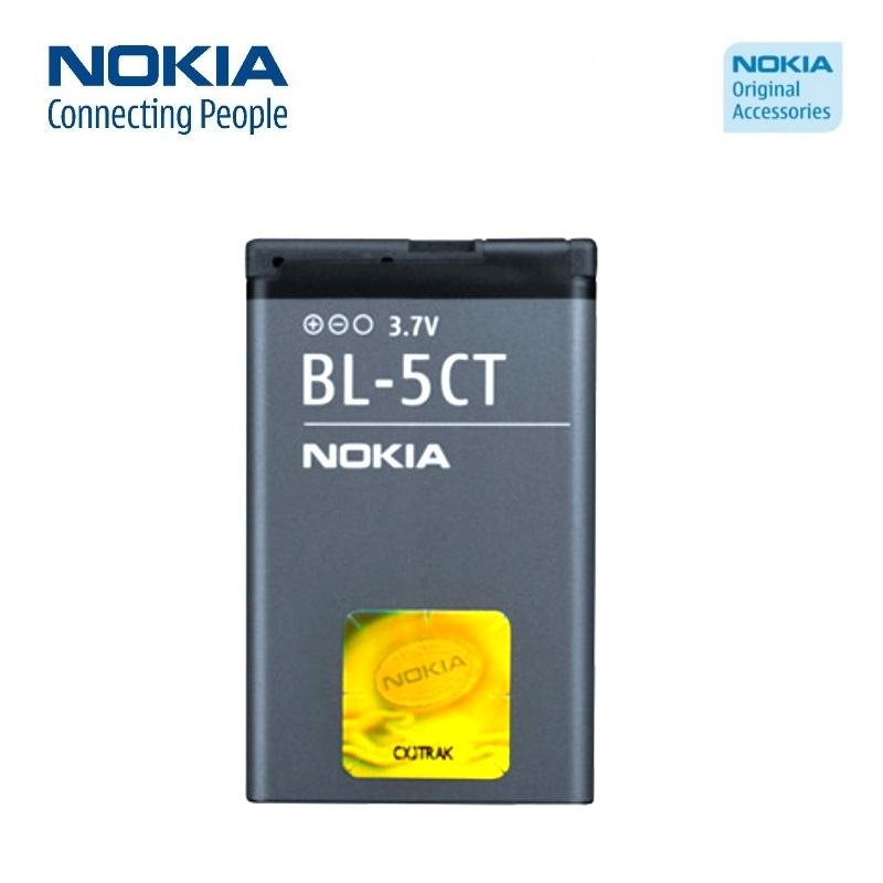 Nokia BL-5CT Original Battery for C3-01 C5 C6-01 Li-Ion 1050 akumulators, baterija mobilajam telefonam