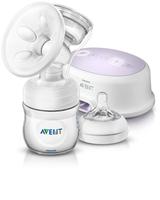Philips AVENT Elektriskais krūts pumpis Natural SCF332/01 bērnu krūts barošanai