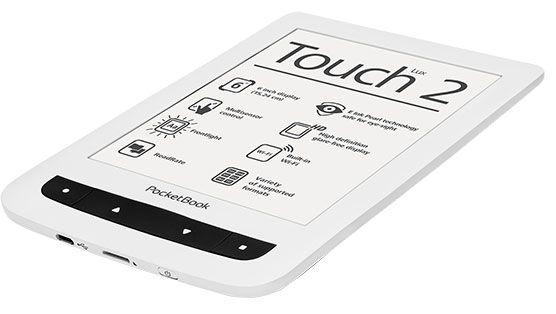 POCKETBOOK Touch Lux 2 white Elektroniskais grāmatu lasītājs