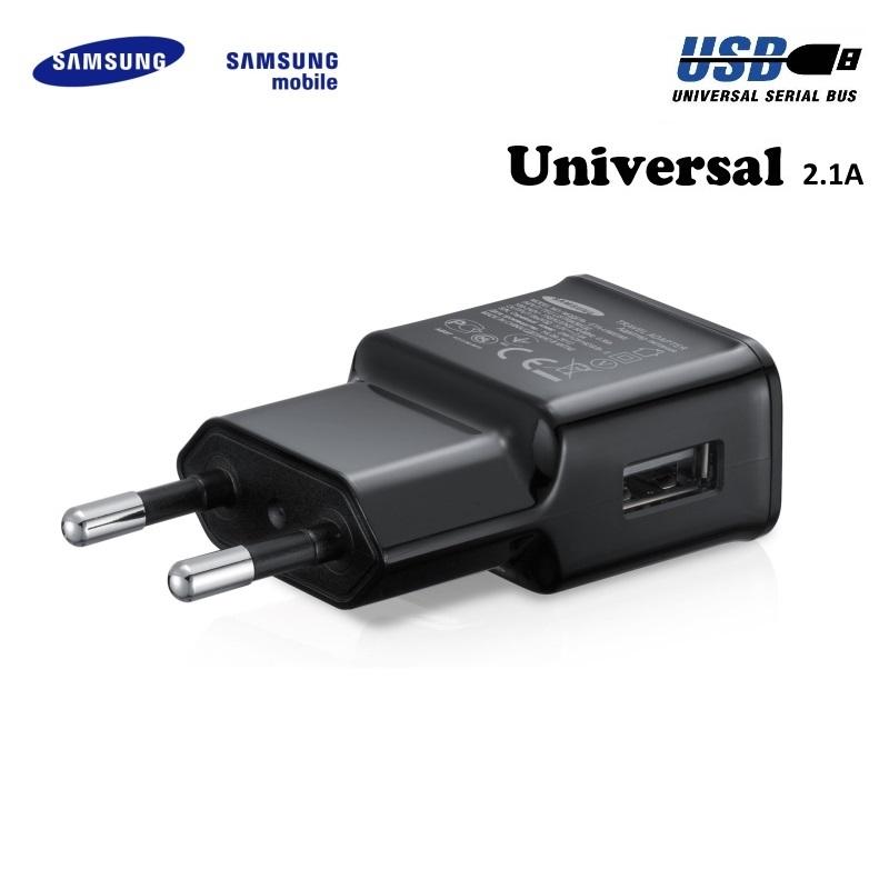 Samsung ETA-U90EBE Universāls Lādētājs USB 2A telefoniem un planšetdatoriem Melns (OEM) aksesuārs mobilajiem telefoniem