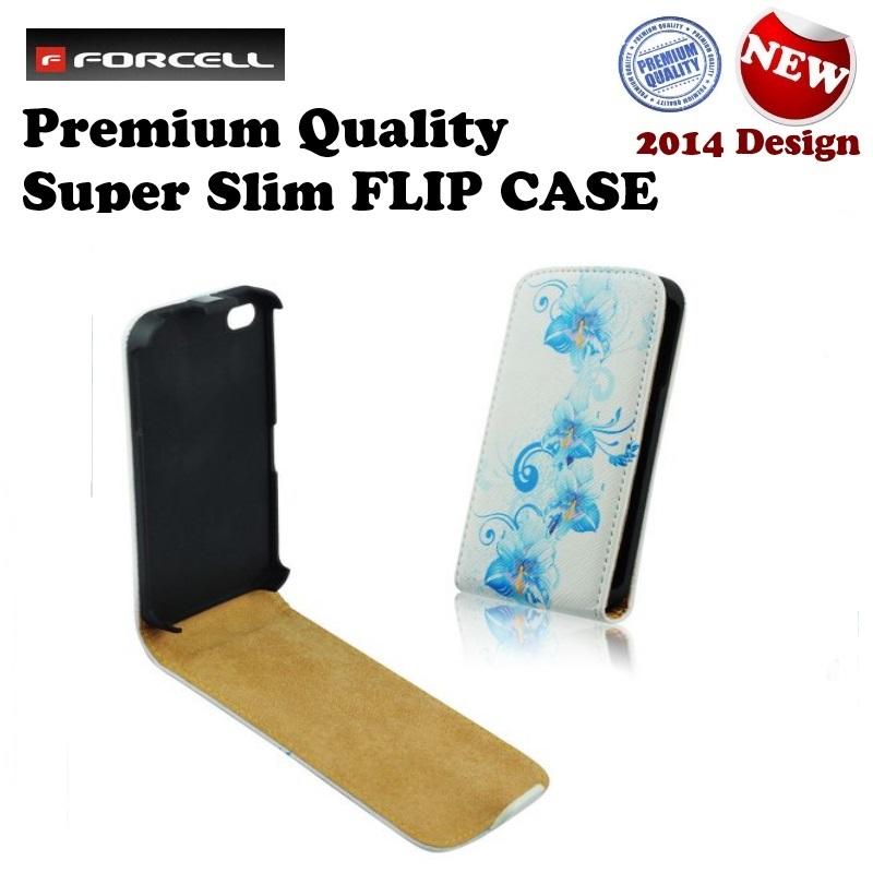 Forcell Slim Flip Pattern Samsung i9190 i9195 S4 mini maciņš, apvalks mobilajam telefonam