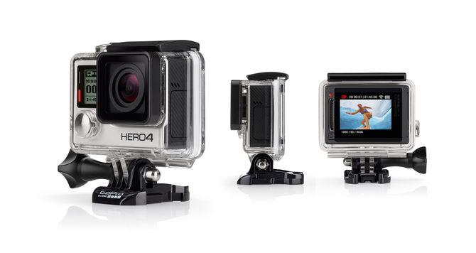 GoPro HERO4 Silver sporta kamera
