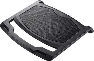 Deepcool Notebook Cooler N400 Black portatīvā datora dzesētājs, paliknis