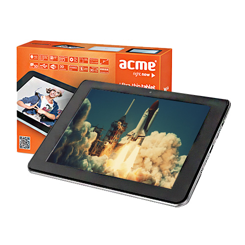 Acme 7.0 Ultra-thin Tablet 8GB Wi-Fi  Black/White Planšetdators