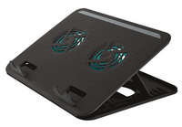Trust Cyclone Notebook Cooling Stand portatīvā datora dzesētājs, paliknis