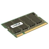 Crucial 1GB, 200-pin SODIMM, DDR2 PC2-6400, CL=6, Unbuffered operatīvā atmiņa
