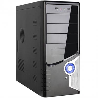 Codegen ATX-6246-A11-USB/HD Audio (metal/black) + ATX500W Datora korpuss