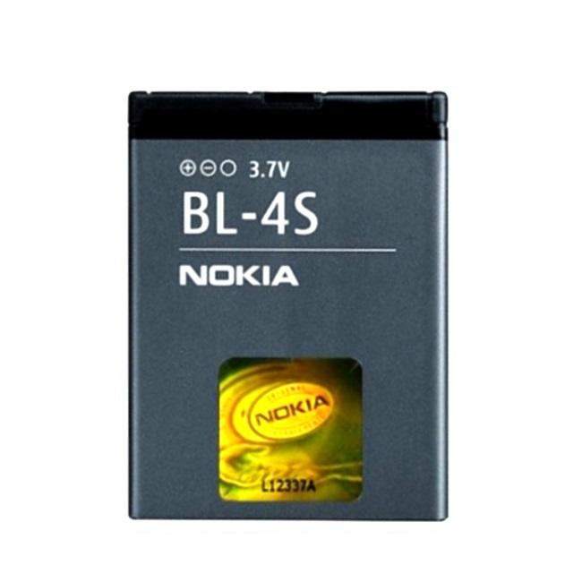Nokia BL-4S Original Battery for X3 Li-Ion 860mAh (M-S Blist) akumulators, baterija mobilajam telefonam