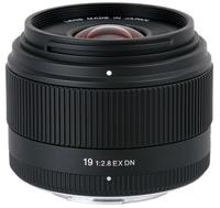 Sigma  19mm F2.8 DN for Micro Four Thirds, Black [Art] foto objektīvs