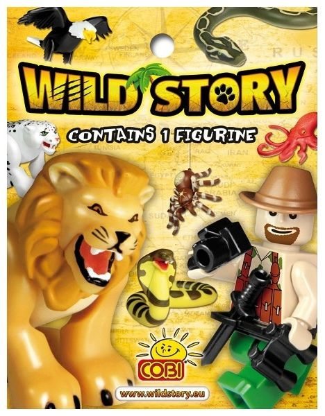 Cobi Figures Wild Story/ Display(22011/22010) konstruktors