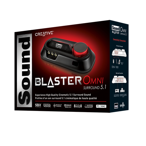 Creative USB SoundBlaster Omni Surround 70SB156000002 skaņas karte