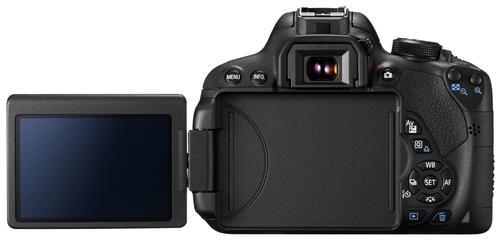Canon EOS 700D 18Mpix 18-55IS STM Black Spoguļkamera SLR