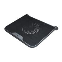 Xilence Notebook Cooler M300 Black portatīvā datora dzesētājs, paliknis