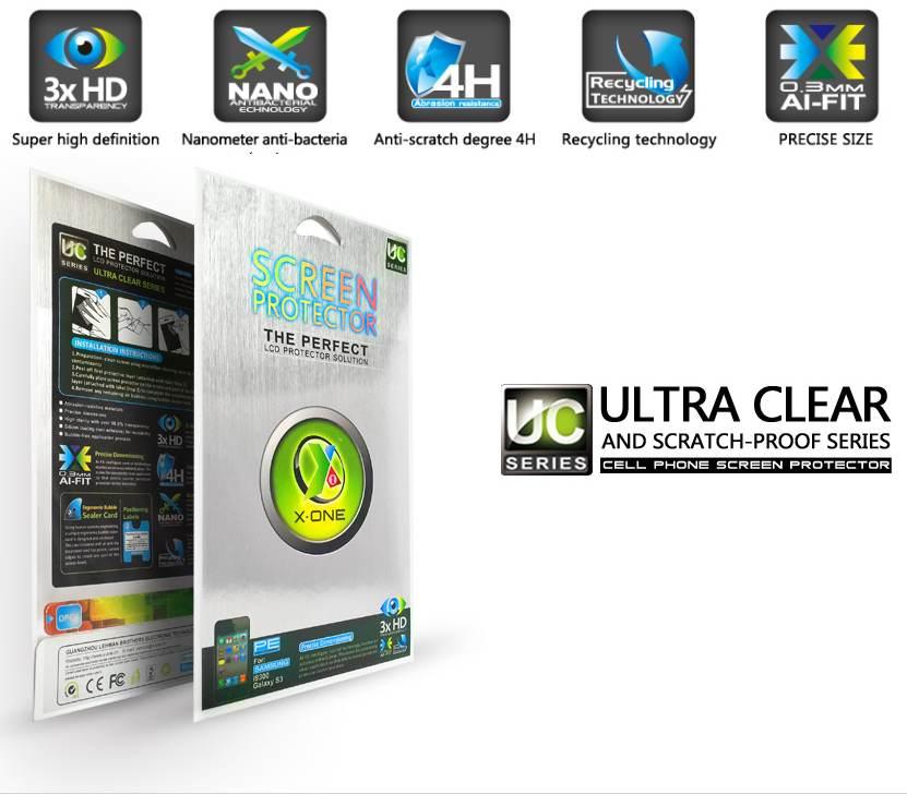 X-One Pro HD Quality Samsung  S4 mini i9195 Screen protector aizsardzība ekrānam mobilajiem telefoniem