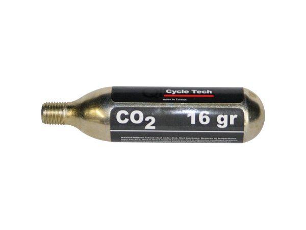CO2 Pumpja kārtridžs Bez Vītnes (16 grami)
