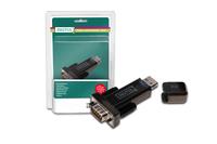 Digitus  DA-70156, USB 2.0 to Serial adapter USB kabelis