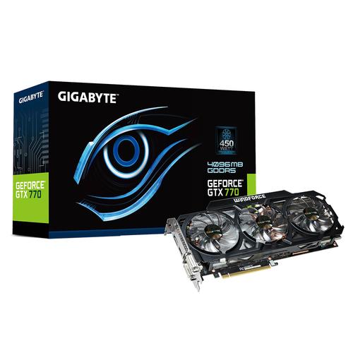 GIGABYTE GV-N770WF3-4GD REV.2 / NVIDIA Geforce GTX 770/ PCI-E 3.0 / 4GB video karte