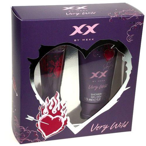 Mexx XX Very Wild Edt 20ml + 50ml Shower gel 20ml Smaržas sievietēm