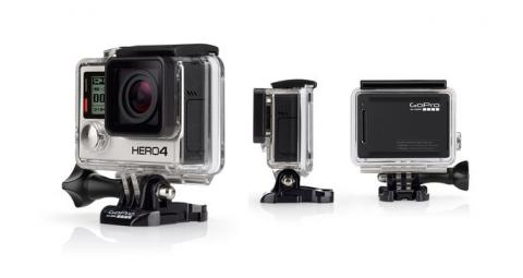 HERO4 Black Adventure - English / French sporta kamera