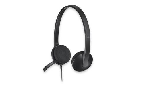 Logitech Headset H340, USB, Black austiņas