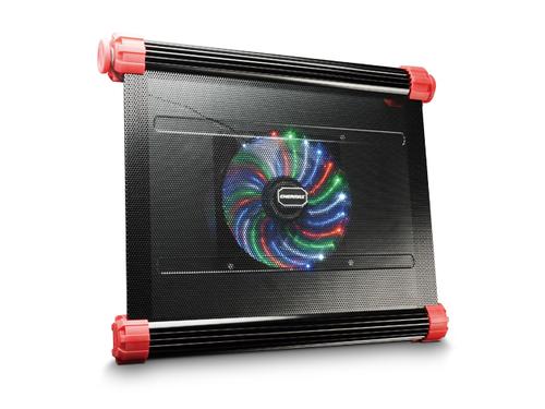 Enermax Notebook Cooler Aeolus Vegas portatīvā datora dzesētājs, paliknis