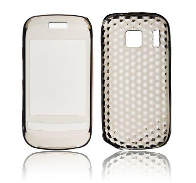Forcell Nokia C2-06 gumijots telefona maks aksesuārs mobilajiem telefoniem