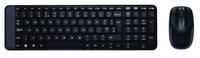 Logitech Wireless Desktop MK220, RU klaviatūra