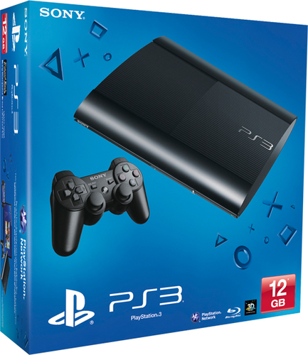 PLAYSTATION 3 SUPER SLIM/PS3 12GB SONY spēļu konsole