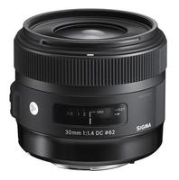 Sigma 30mm F1.4 DC HSM for Nikon [Art] foto objektīvs