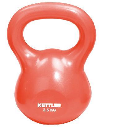 KETTLER Fitnesa hanteles Kettle Ball 2.5kg red 7370-064 hanteles