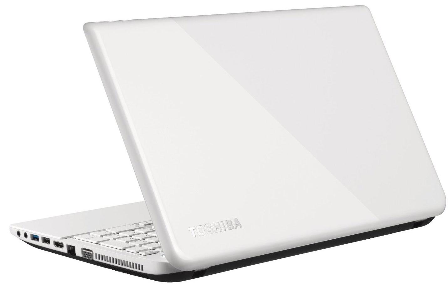 Toshiba Satellite L50-B-11K White Portatīvais dators