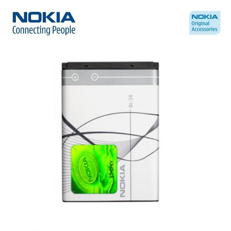 NOKIA BL-5B Original Battery Li-Ion 860mAh (M-S Blister) akumulators, baterija mobilajam telefonam