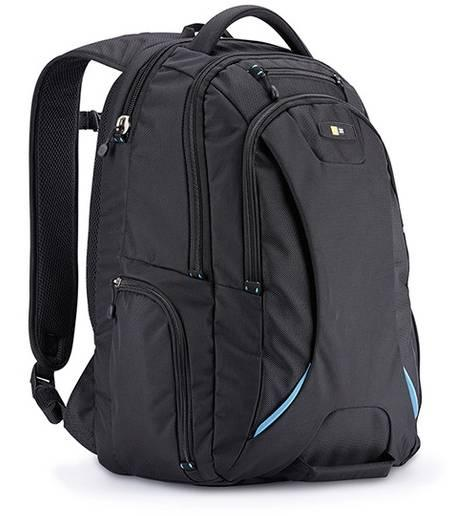 Case Logic BEBP115K mugursoma portatīvam datoram līdz 15,6 portatīvo datoru soma, apvalks