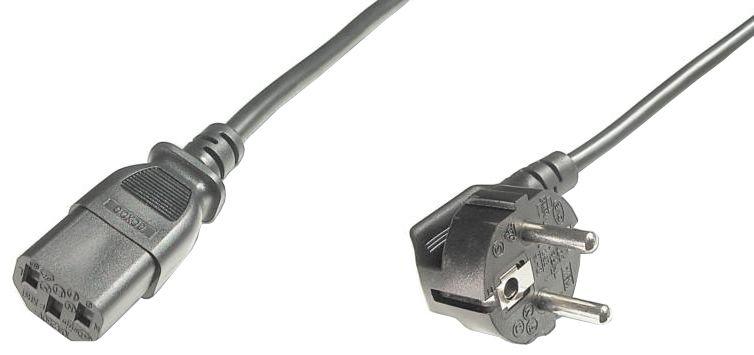 PC Power supplay bulk cable 220V/16A, 1.2m Barošanas kabelis