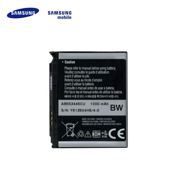 Samsung AB553446CE Original Battery for F480 F488 Li-Ion 100 akumulators, baterija mobilajam telefonam