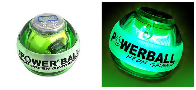 POWERBALL Neon Green Pro Powerball