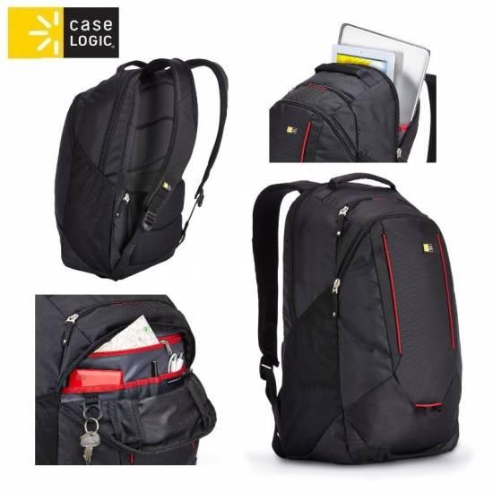 Case Logic BPEB115K mugursoma portatīviem datoriem līdz 15.6 portatīvo datoru soma, apvalks
