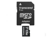 TRANSCEND Micro SD Card 2GB with adapter atmiņas karte