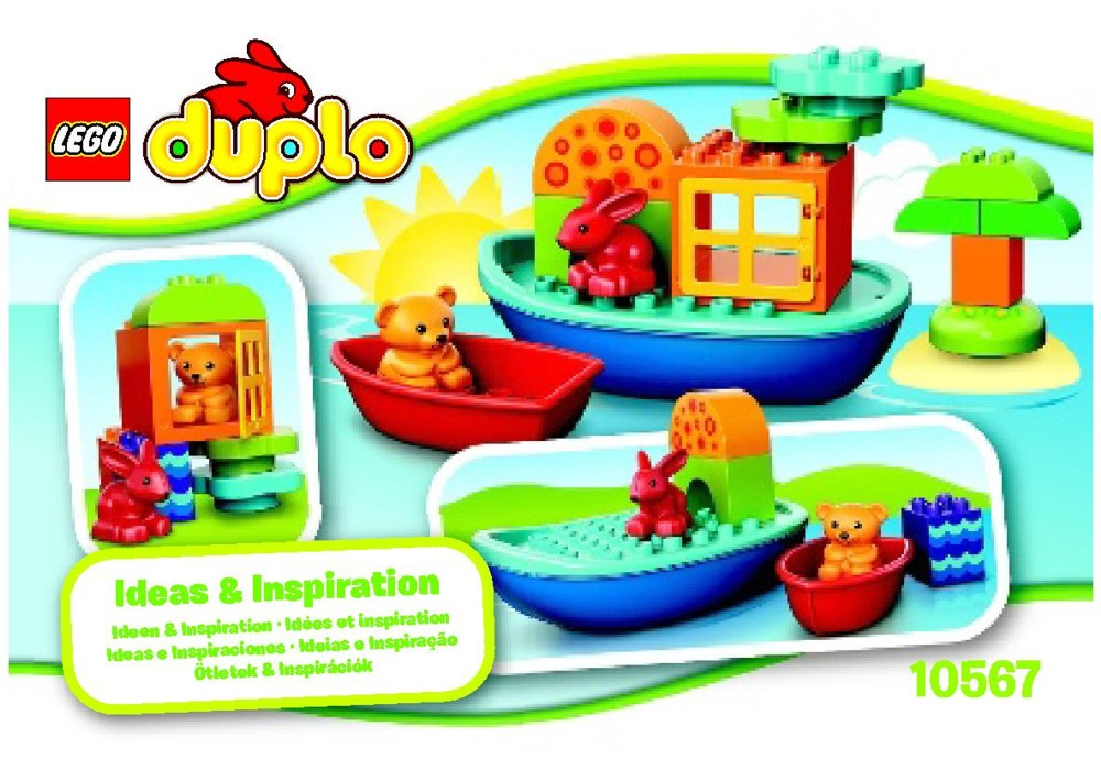 LEGO Duplo Toddler Build and Boat Fun 10567 LEGO konstruktors