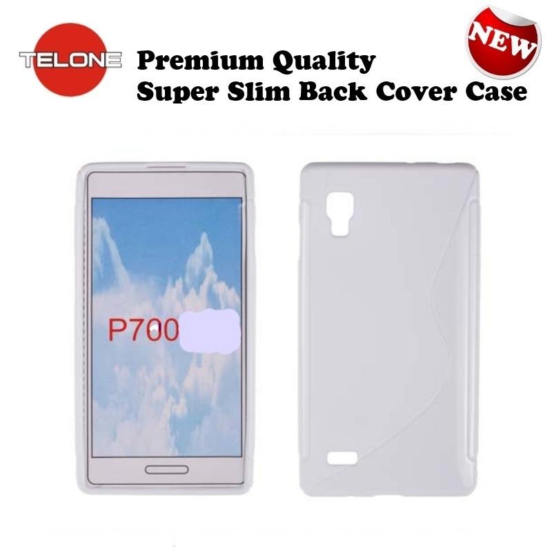 Telone Back Case S-Case gumijots telefona apvalks LG P700 aksesuārs mobilajiem telefoniem