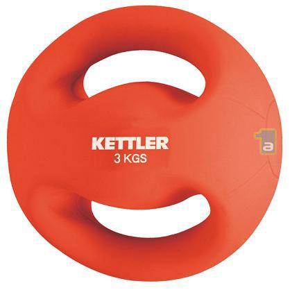 KETTLER Fitnesa hanteles Fitness Ball 3kg red 7370-044 hanteles