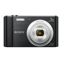 Sony DSC W800 Black Digitālā kamera