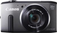 Canon PowerShot SX270 HS 12.1Mpix 20x IS Grey Digitālā kamera