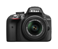 Nikon D3300 24.2Mpix 18-55 VR II Black Spoguļkamera SLR