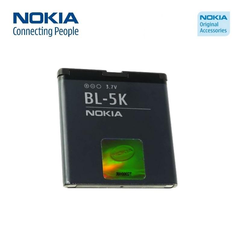 Nokia BL-5K Original Battery for C7 X7 N85 N86 Li-Ion 1200mA akumulators, baterija mobilajam telefonam