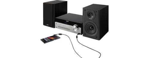 SONY mikro sistēma 50W  CD, FM/AM, Bluetooth, NFC, USB CMT-SBT100 mūzikas centrs