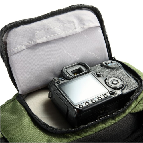 Vanguard KINRAY Lite 48GR Backpack Green soma foto, video aksesuāriem