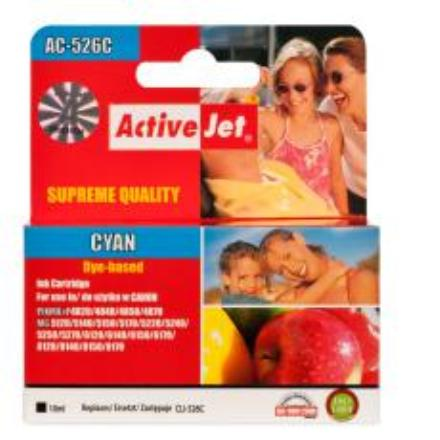 Action ActiveJet ACC-526C Cyan kārtridžs